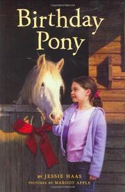 Book Cover for BIRTHDAY PONY