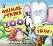 Book Cover for ANIMAL STRIKE AT THE ZOO. IT'S TRUE!