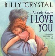 Book Cover for I ALREADY KNOW I LOVE YOU