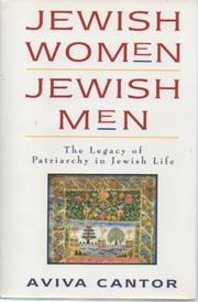 JEWISH WOMAN/JEWISH MEN by Aviva Cantor