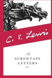 Cover art for THE SCREWTAPE LETTERS
