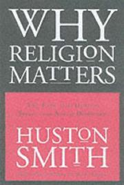 Cover art for WHY RELIGION MATTERS