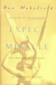 Book Cover for EXPECT A MIRACLE