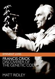 Book Cover for FRANCIS CRICK