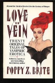 LOVE IN VEIN by Poppy Z. Brite