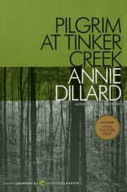 Book Cover for PILGRIM AT TINKER CREEK