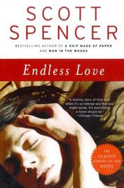 ENDLESS LOVE by Scott Spencer