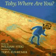 Book Cover for TOBY, WHERE ARE YOU?