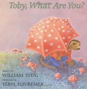 Cover art for TOBY, WHAT ARE YOU?