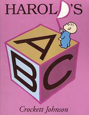 HAROLD'S ABC by Crockett Johnson