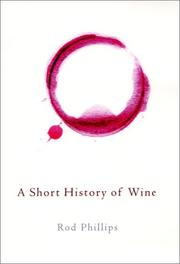 Book Cover for A SHORT HISTORY OF WINE