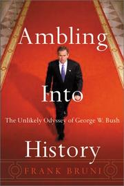 Cover art for AMBLING INTO HISTORY