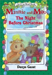 Cover art for MINNIE AND MOO: THE NIGHT BEFORE CHRISTMAS