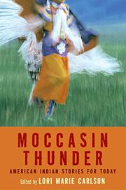 MOCCASIN THUNDER by Lori marie Carlson