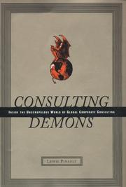 Book Cover for CONSULTING DEMONS