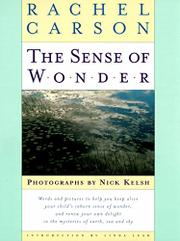 Cover art for THE SENSE OF WONDER