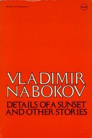 DETAILS OF A SUNSET AND OTHER STORIES by Vladimir Nabokov