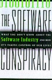 THE SOFTWARE CONSPIRACY by Mark Minasi