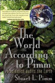 THE WORLD ACCORDING TO PIMM by Stuart Pimm