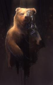 BEAR-SUIT MOZART by Josh Starbuck