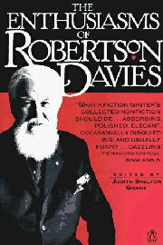 Cover art for THE ENTHUSIASMS OF ROBERTSON DAVIES