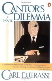 CANTOR'S DILEMMA by Carl Djerassi