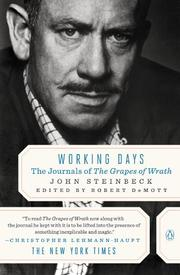 Cover art for WORKING DAYS: The Journals of The Grapes of Wrath
