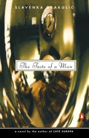 Book Cover for THE TASTE OF A MAN