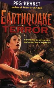 EARTHQUAKE TERROR by Peg Kehret