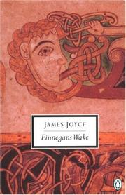 Cover art for FINNEGANS WAKE