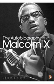 Cover art for THE AUTOBIOGRAPHY OF MALCOLM X