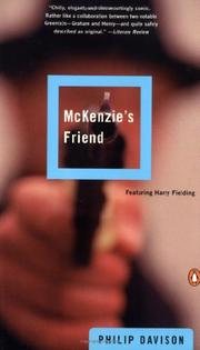 MCKENZIE'S FRIEND by Philip Davison