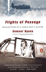 FLIGHTS OF PASSAGE by Samuel Hynes