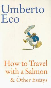 Book Cover for HOW TO TRAVEL WITH A SALMON AND OTHER ESSAYS