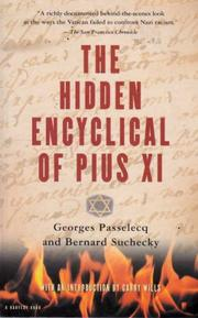 Cover art for THE HIDDEN ENCYCLICAL OF PIUS XI