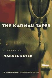 Cover art for THE KARNAU TAPES