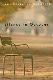 Cover art for SILENCE IN OCTOBER