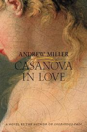 Cover art for CASANOVA IN LOVE