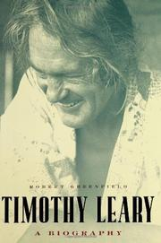 Cover art for TIMOTHY LEARY