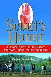 SCOUT'S HONOR by Peter Applebome