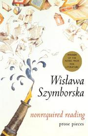 NONREQUIRED READING by Wislawa Szymborska