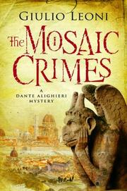 THE MOSAIC CRIMES by Giulio Leoni