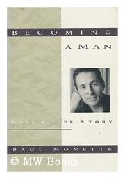 Cover art for BECOMING A MAN