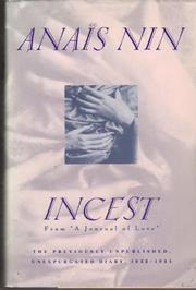 Cover art for INCEST