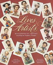 Book Cover for LIVES OF THE ARTISTS