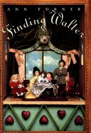 Cover art for FINDING WALTER