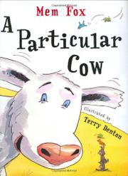 Cover art for A PARTICULAR COW