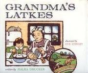 Book Cover for GRANDMA'S LATKES