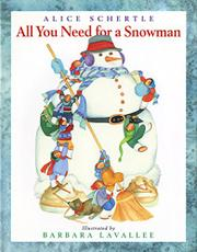 Book Cover for ALL YOU NEED FOR A SNOWMAN