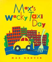 Cover art for MAX'S WACKY TAXI DAY